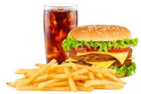 Ile kalorii ma jedzenie typu fast food?